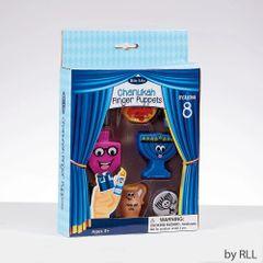 Chanukah Vinyl Finger Puppets