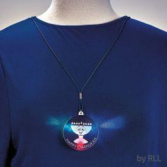 Chanukah Light-Up Pendant Necklace