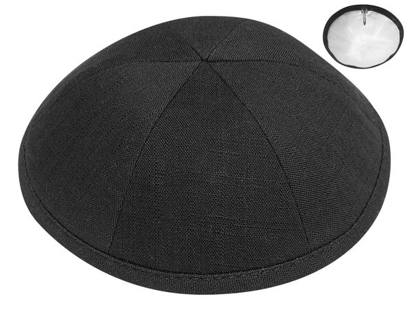 LINEN Kippot - ALSO SUITABLE FOR WEDDING AND BAR/BAT MITZVAH