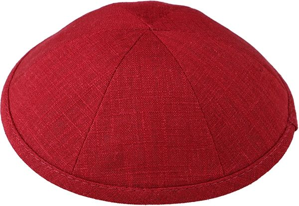 Linen Kippot (ALSO SUITABLE FOR WEDDING AND BAR/BAT MITZVAH)