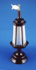 Spice Box Wood Silver 7.75 Inches Tall, Made In Israel