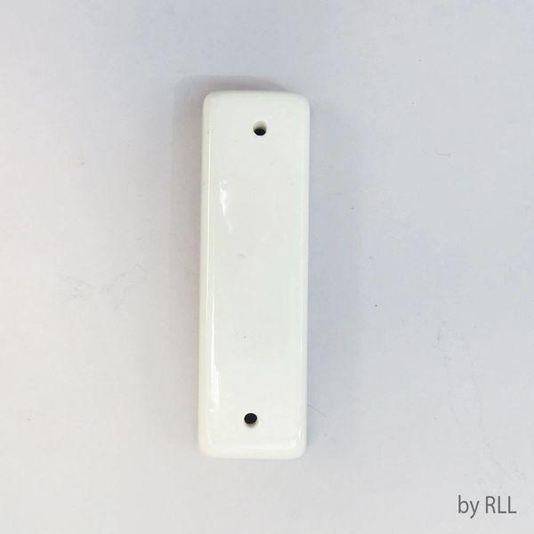 Plain White Ceramic Mezuzah- Suitable for personalization/Custom design