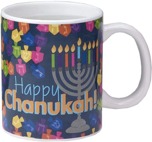 Color Changing Chanukah Mug