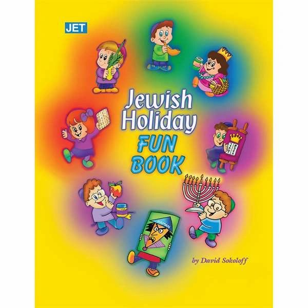 Jewish Holiday Fun Book - Ages 6-9