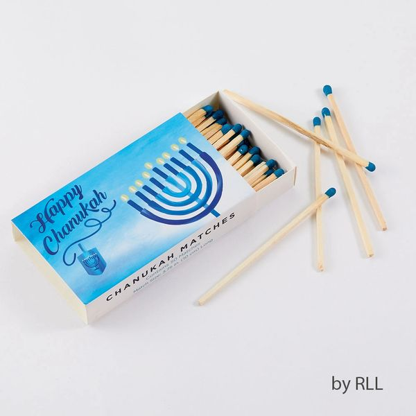 Chanukah Matches in Rectangular Gift Box