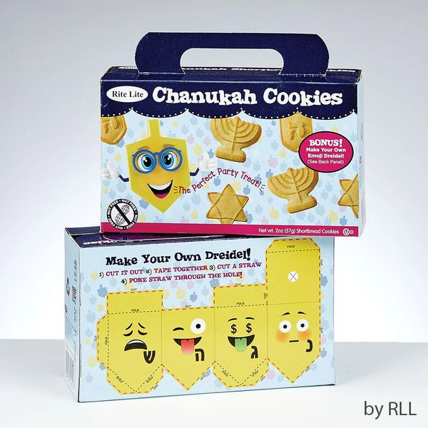 Chanukah Dairy Shortbread Cookies