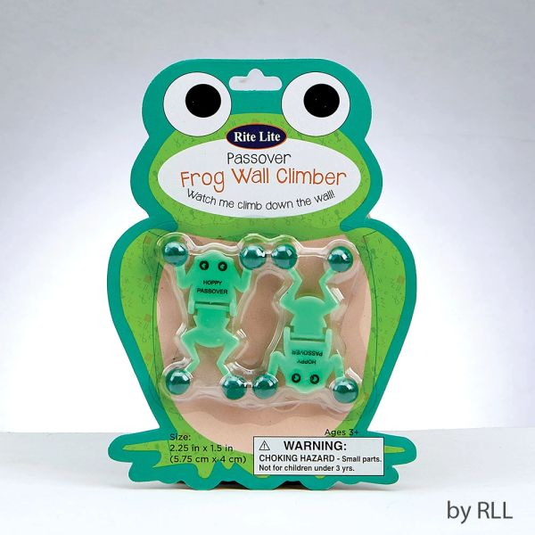 Set of 2 Passover Frog Wall Climbers