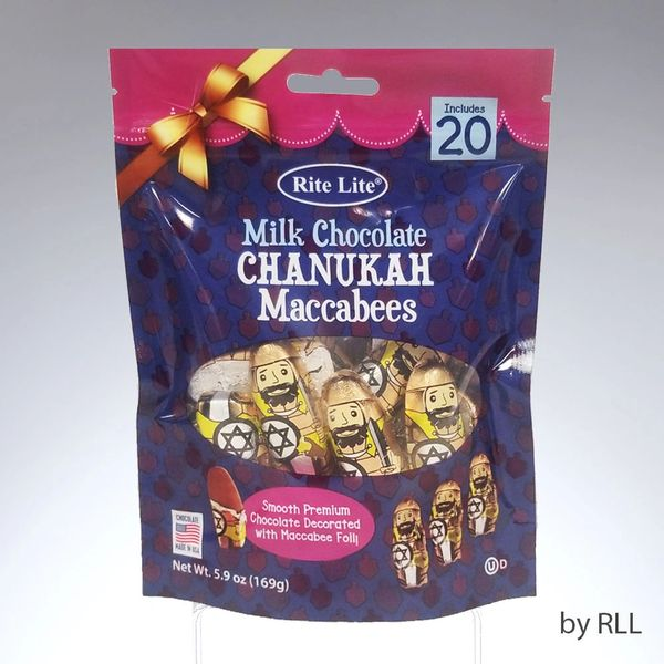 Milk Chocolate Chanukah Maccabees - Bag of 20