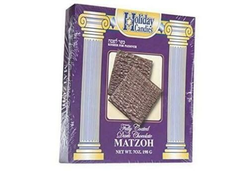 Kosher For Passover Matzah Dark Chocolate Covered Matzo, 7 oz OUPareve