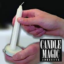 CANDLE ADHESIVE GLUE SOFT WAX- SECURE CANDLES