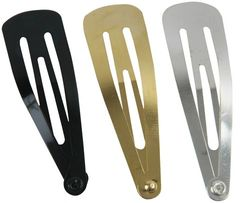 Kippah Clip Package Of 12, Available In Silver, Gold, Black or White