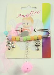 Baby Pin Chamsah Pink - 3.5 Inches L