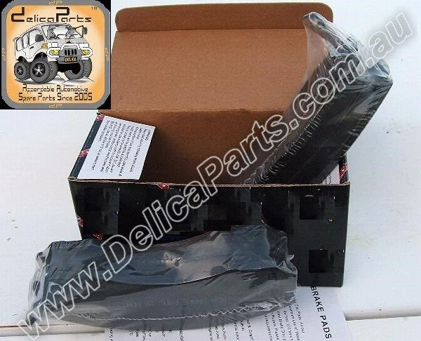BRAKE PADS, FRONT, SET of High Quality Disc Brake Pads for 4x4, Delica, L-400