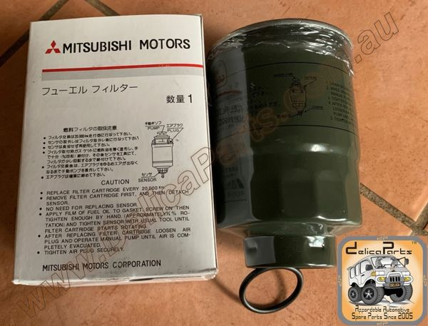 MITSUBISHI Fuel Filter for 4D56, 2.5 L Diesel Delica (Starwagon, L-300)