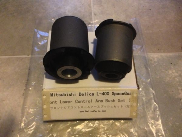 Front Lower Control Arm Bush SET (FRONT and REAR) L-400, 4x4