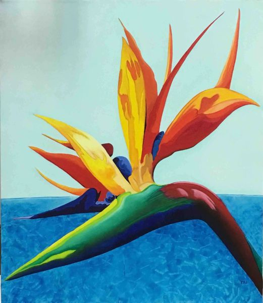 Bird of Paradise II SOLD