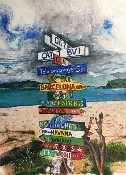 """Cat 7"" - Smuggler's Cove, Tortola"