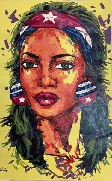 Cuban Lady by Lia