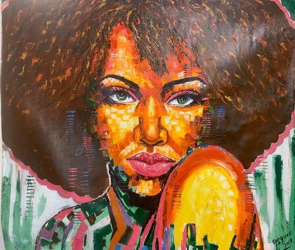 Cuban Lady - Afro