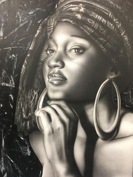 Black & White Cuban Portrait