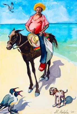 Caribbean Don Quixote