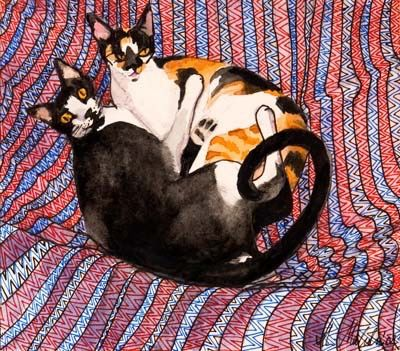 Cats on Cushions