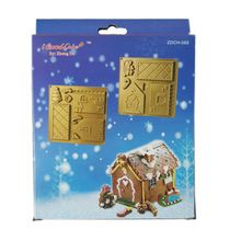 GINGERBREADHOUSE MOLD SET