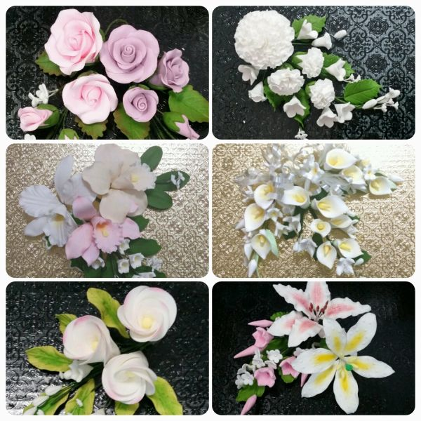 GUMPASTE FLOWERS CLASS