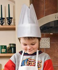 CHEF HAT DISPOSABLE KIDS