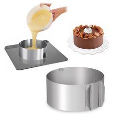 ADJUSTABLE CAKE RING