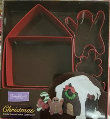 XMAS HOUSE CUTTER SET