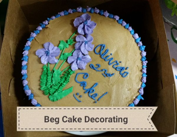 CAKE DECORATING INTRO