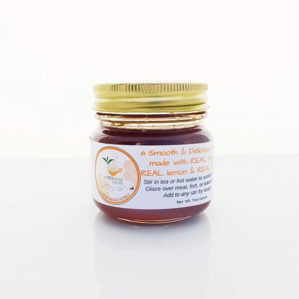 Lemon-Ginger Honey Sauce 18oz