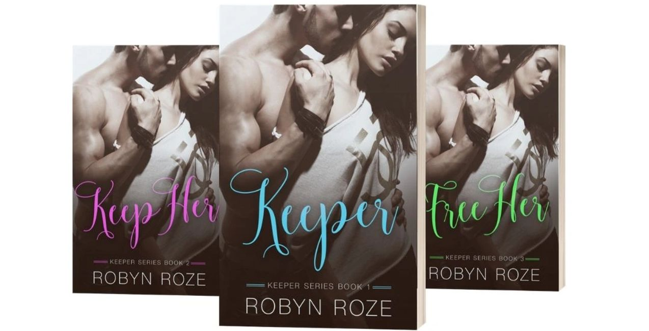 eBook series with young woman and young man on cover