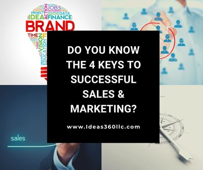 4 keys to sales and marketing