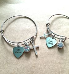 God Mother & God Child Bangles