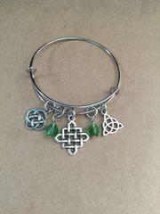 Irish Celtic Knot Bangle