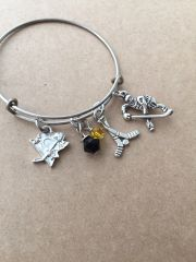 Penguin Hockey Bangle