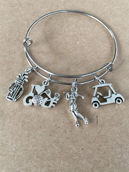 Golf Lover Bangle