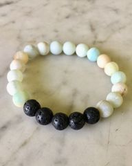 Diffuser Amazonite Bracelet