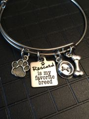 Roxie's Place Fundraiser Bangles Dog / Rescue