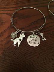 Roxie's Place Fundraiser Bangles Pitbulls