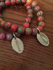 Rainbow Cal Silica Bracelet