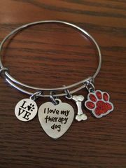 Roxie's Place Fundraiser Therapy Dog Bangle