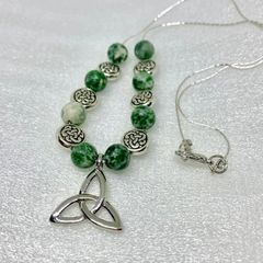 Trinity Knot Necklace with Extender