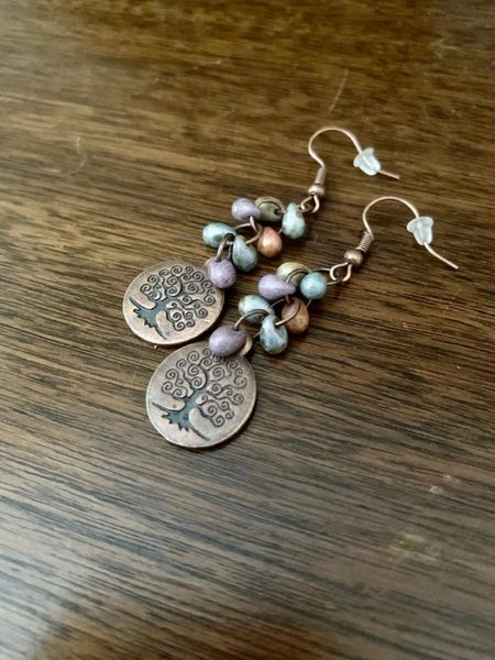 Bohemia Tree of Life Earrings