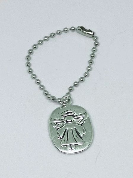 Guardian Angel Key Chain / Zipper Pull