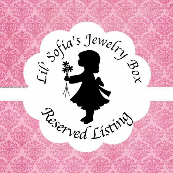 Reserved Listing Josephine Bradley