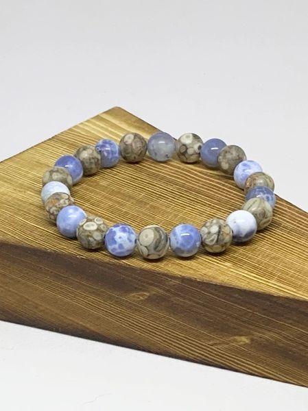 Blue Chalcedony & Ocean Jasper
