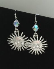 Fun in the Sun Earrings with Crystals